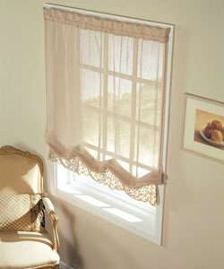 Mimosa Sheer 68 inch Window Balloon Shade
