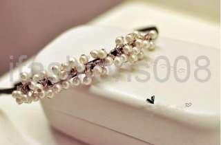 Fashion Korean Style Candy Cute Lovely Pearl Headband Hair Accessories
