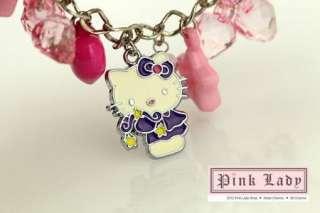 KJ30 Cute Hello Kitty Charm Pendant Bracelet
