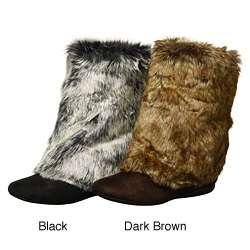 Report Womens Meloni 3 way Faux Fur Boots