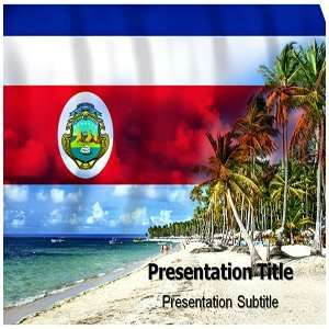 Costa Rica PowerPoint Template   Costa Rica PowerPoint