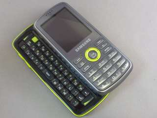 SGH T459 GRAVITY UNLOCKED GSM QUAD BAND PHONE LIME GREEN