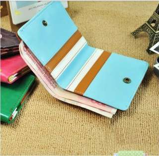 Cartoon Bifold PU Leather Purse Cash Holder Cards Slots Wallet VS