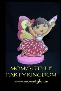 Dora crystal birthday party centerpiece decoration #2