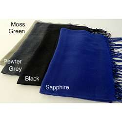 Earth Wrap Womens Cotton/ Wool Blend Shawl