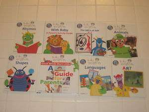 Walt Disney BABY EINSTEIN Lot 8 books~HC~Shapes,Rhymes |
