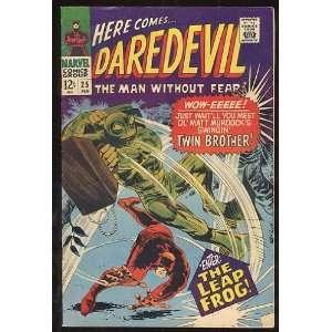 Daredevil, v1 #25. Feb 1967 [Comic Book] Marvel (Comic