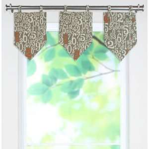 Counted Collection Valances   tab top valance, Count On