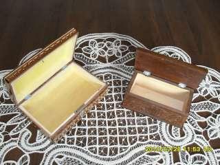 Vintage Jewellery Crafts Secret Puzzle Gift Box Decor