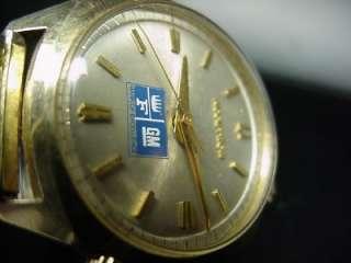 Vintage Accutron General Motors Chevy GM mens wrist watch 1970s