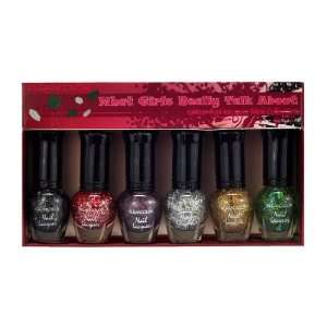 Klean Color What Girls Talk About Glitter Nail Lacquer Mini .17 oz