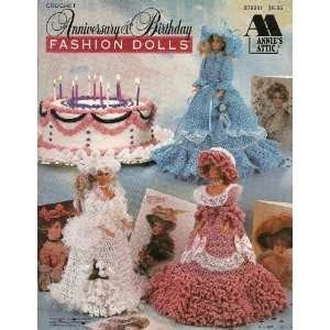 & Birthday (Fashion Dolls Crochet Designs) Annie Potter Books