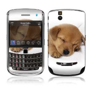 Bold 9650 Skin Decal Sticker   Animal Sleeping Puppy