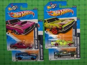 2012 Hot Wheels Kmart Day 2/11/12 Exclusive Colors