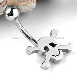 Colors Various Style Punk Stainless Steel Ball Belly Navel Ring Body