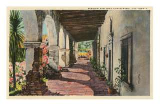 Mission San Juan Capistrano, California Posters at AllPosters