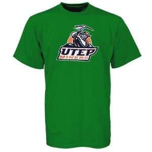 UTEP Miners Green St. Patricks Day Team Logo T shirt