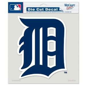 Detroit Tigers Die Cut Decal Full Color