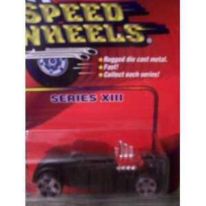 Speed Wheels Knuckle Dragger ~ Black (Series XIII)  Toys & Games