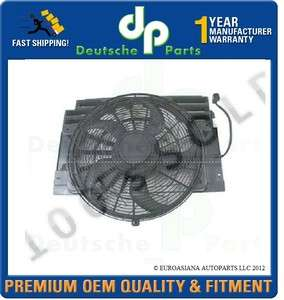 BMW E53 X5 3.0 4.4 4.6 4.8 CONDENSER FAN MOTOR ASSEMBLY