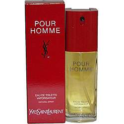 Yves Saint Laurent YSL Pour Homme Mens 1.6 oz EDT Spray  Overstock