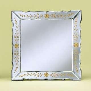 Venetian Gems Paula Venetian Table Mirror Decor