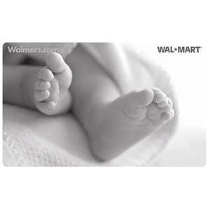 Baby Feet Gift Card Gift Cards