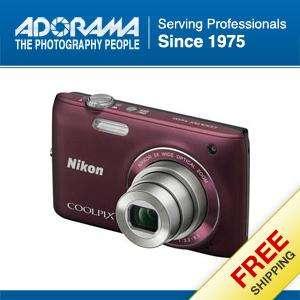 Nikon Coolpix S4100 Digital Camera, Plum   Refurbished by Nikon U.S.A