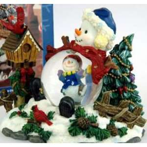 SnowMan Snow Globe with Gift Box