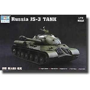 TRUMPETER SCALE MODELS   1/72 Russian JS3 Stalin Heavy Tank
