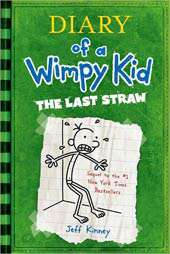 Diary of a Wimpy Kid Book 3 The Last Straw (Hardcover)  Overstock