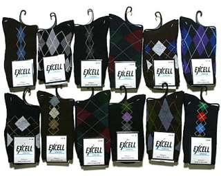 NEW Womens Assorted Cotton Argyle Design Novelty Print Dress Socks