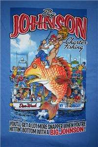 Big Johnson T Shirt Charter Fishing