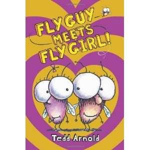 Fly Guy #8 Fly Guy Meets Fly Girl [Hardcover] Tedd Arnold Books