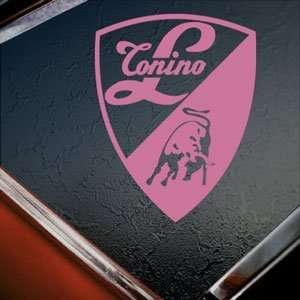 Lamborghini Pink Decal Logo Bull Car Truck Window Pink