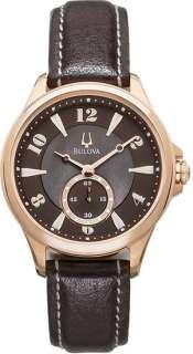 Bulova Ladies Brown Mother of Pearl Dial Watch 97L113