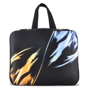 Flame 15 15.6 Laptop Sleeve Bag Case Cover +Hide Handle For Dell HP