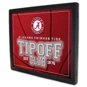 Alabama Crimson Tide Tipoff Club Backlit Team Panel