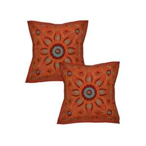 Elegant Design Ethnic Look Cushion Pillow Cover with
