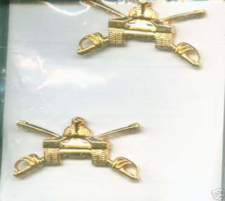 ARMY OFFICER BRANCH INSIGNIA ARMOR CORPS NIP 1982 |