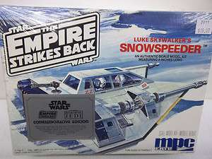 MPC ERTL STAR WARS EMPIRE STRIKES BACK LUKE SKYWALKERS SNOWSPEEDER