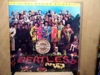 Beatles MFSL SEALED Sgt. Peppers Lonely Hearts Club Band LP NEW