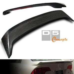 06 08 Honda Civic 4 Door Carbon Fiber Spoiler   Mugen