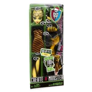 Monster High Build Create a Monster INSECT Add on Pack mix & Match 100
