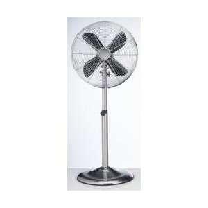Height Adjustable Floor Fan   Stainless  Deco Breeze   DBF0208
