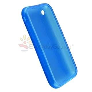 10 Rubber Case for iPhone 3 G 3GS White+Black+Blue+Purple+Pink+Orange
