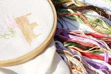 Salvador Dali   Skull Art Counted Cross Stitch Kit
