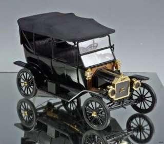 Franklin Mint Die cast car 1913 Ford Model T Touring Car 116