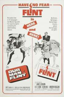 Our Man Flint 27 x 40 Movie Poster James Coburn, B
