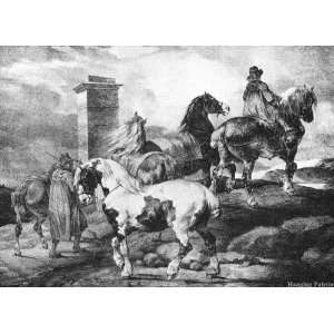 English Scenes   Horses